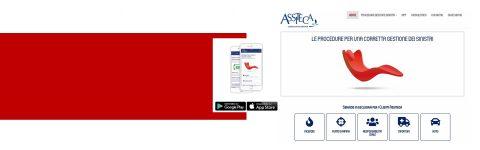 Scarica la App Assiteca per la gestione dei sinistri