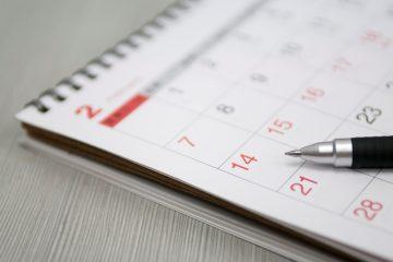 calendari eventi societari