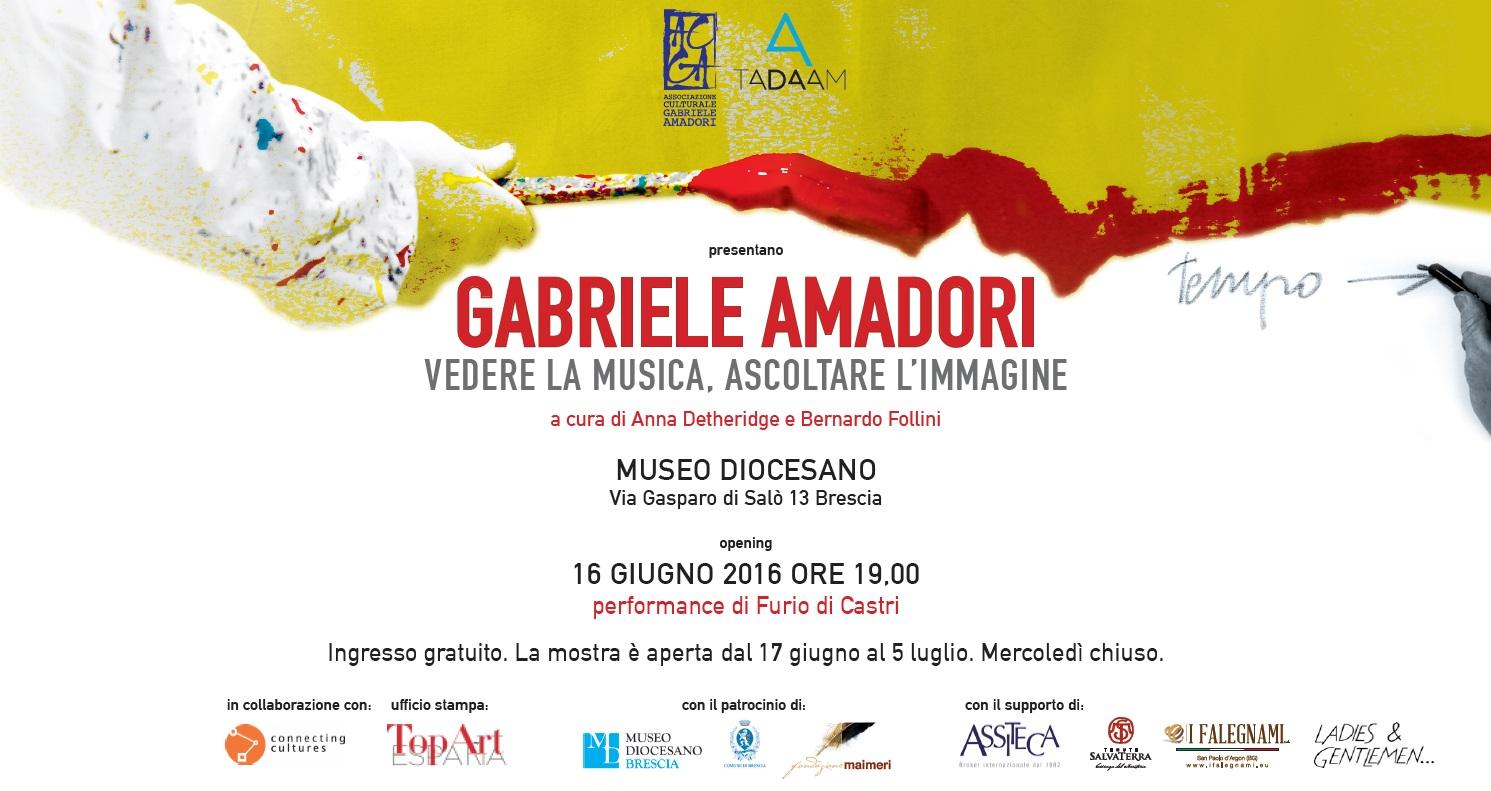 la Mostra di Gabriele Amadori a Brescia