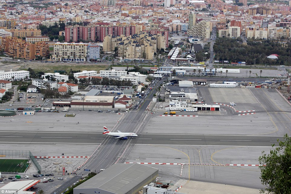 Aeroporto Gibilterra