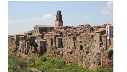 Pitigliano, borgo in provincia di Grosseto