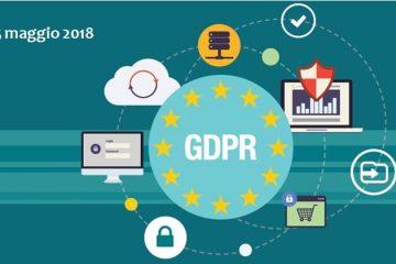 GDPR - Regolamento tutela dati personali