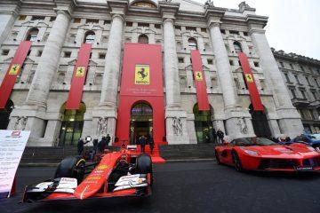 Fca - Ferrari in Borsa