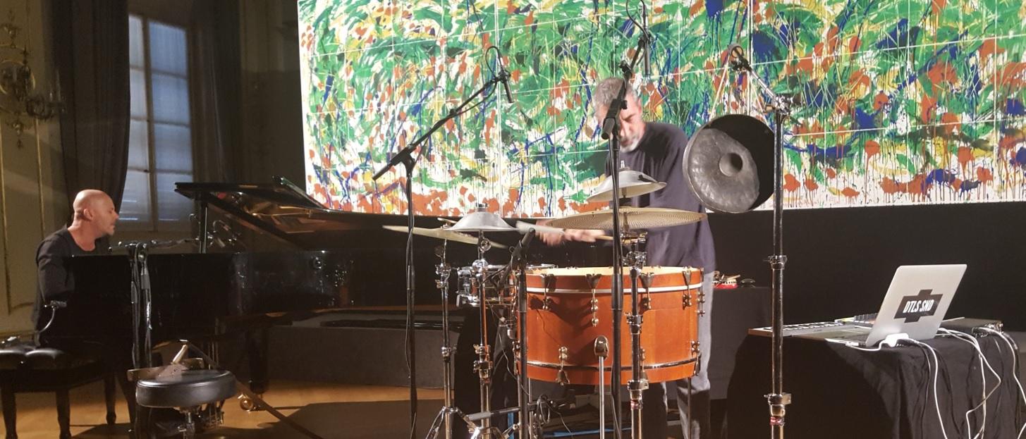 Gabriele Amadori - Inaugurazione Mostra a Reggio Emilia - Rabbia e Battaglia in concerto