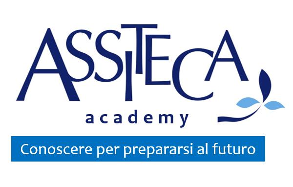 Logo Assiteca Academy e claim